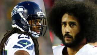 Richard Sherman Believes Colin Kaepernick Is Being Blackballed By NFL Teams