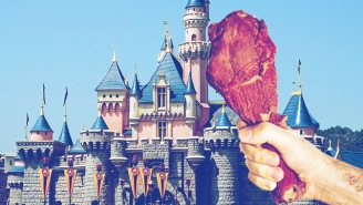 Zachary Levi Insists That Disneyland's Turkey Legs Are Actually Made From Emu