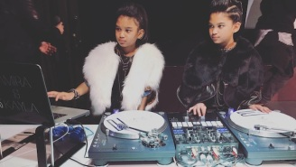These 10-Year-Old Twin Girls Can Remix Biggie Better Than Most Professional DJs