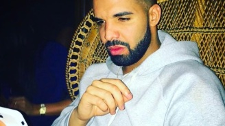 Drake Wasn't Content To Post Just One Instagram Pic With The Elusive Sade