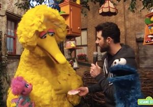 Billy Eichner Takes His 'Billy On The Street' Antics To 'Sesame Street' To Play 'For A Cookie'