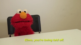 'Sesame Street's Elmo Learns He May Be Out Of A Job In A Parody Video That Skewers Trump's Budget
