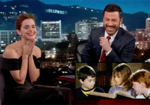 Emma Watson Relives An Embarrassing 'Harry Potter' Memory On 'Jimmy Kimmel Live'
