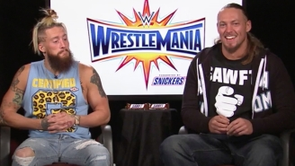 Enzo Amore And Big Cass Tell Us About The Snickers 'Sawft' Bar, And Dating A Box Of Chicken