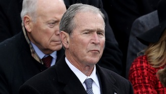 George W. Bush On Trump's Inauguration Speech: 'That Was Some Weird Sh*t'