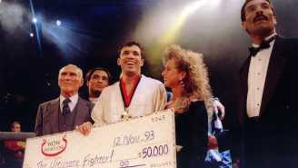 Royce Gracie Is Up For A Hall Of Famer Fight Against Matt Hughes