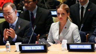 Emma Watson Responds To The 'Bad Feminist' Backlash Over Her Braless Vanity Fair Photo