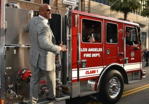 The Rock Took To Instagram To Announce A New Movie About A Flaming Skyscraper
