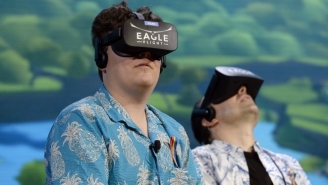 Palmer Luckey, Disgraced VR Tycoon, Wants To Use Self-Driving Car Tech To Create A 'Virtual Border Wall'