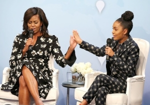 Michelle Obama Wrote 'Black-ish' Star Yara Shahidi's College Letter Of Recommendation