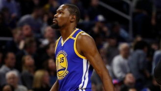 Kevin Durant Was Originally Told His Leg Was Broken And He Burst Out Crying