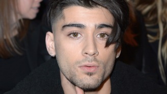 Zayn Has New Green Hair To Go With His New PartyNextDoor Collab