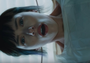 Scarlett Johansson Gets A Rude Awakening In A New 'Ghost In The Shell' Teaser