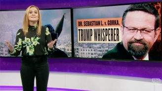 Samantha Bee Aims A Dagger At Sebastian Gorka, The Controversial Trump Advisor With Alleged Ties To A Nazi Group