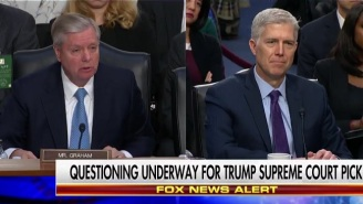 Lindsey Graham Admits He Was Worried Trump Would Appoint A TV Judge To The Supreme Court