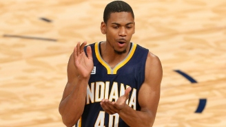 Dunk Contest Champ Glenn Robinson III Showed Off His Crazy Ups Once Again On A Nasty Block