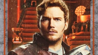 Chris Pratt Has A Message For Fans, A Pet Tiger, And A Set Of 'Guardians Of The Galaxy Vol. 2' Character Posters