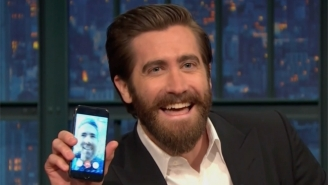 Jake Gyllenhaal Goes To Great Lengths To Prove He's Friends With Ryan Reynolds For Seth Meyers
