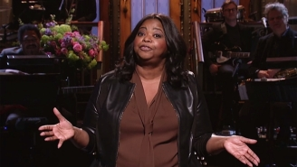 Octavia Spencer Capitalizes On Hollywood's 'Hidden Fences' Fascination On 'SNL'