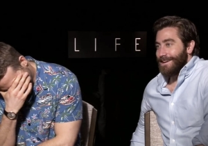 Watch As This Interview With Ryan Reynolds And Jake Gyllenhaal Gets Hilariously NSFW