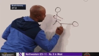 Things Got NSFW On ESPN When Jay Williams Accidentally Drew This Image