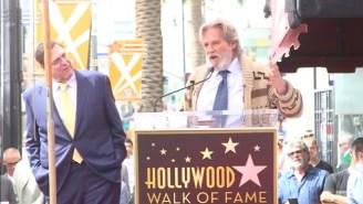 Jeff Bridges Proves That The Dude Still Abides At John Goodman's Walk Of Fame Ceremony