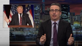 John Oliver Tries To Make Sense Of Trump's Federal Budget: 'I Don't Know How You Turn That Into Policy'