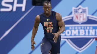The Internet Was Blown Away By John Ross' Record-Setting 40-Yard Dash At The Combine