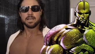 See Johnny Mundo's Transformation Into 'The Savage Dragon'