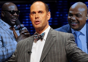 Ernie Johnson On His Favorite 'Inside The NBA' Moments And Handling The Shaq And Chuck 'Mayhem'