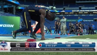 The NFL Combine Has A New Record For The 40-Yard Dash (UPDATED)