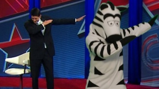 The Best 'Just Add Zebras' Memes In Response To John Oliver's Green Screen Challenge