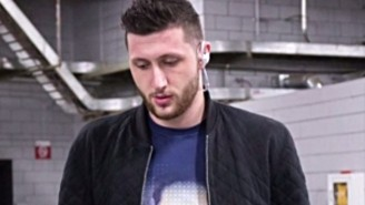 Jusuf Nurkic Wore A Hilarious Shirt With A Stern Warning From His Girlfriend
