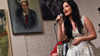 Kacey Musgraves Debuted A Brand New Song Called 'Butterflies' During 'A Prairie Home Companion'