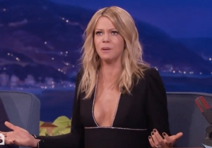Kaitlin Olson Of 'It's Always Sunny' Says Her Six-Year-Old Son Is 'Definitely A Psychopath'