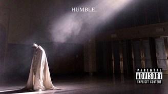 Kendrick Lamar's New 'Humble' Video Is A Hell Of A Flex