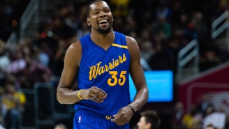 Kevin Durant Isn't Impressed With The Sixers' New 'FEDS' Nickname