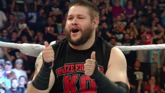 Kevin Owens Will Get His Very Own WWE DVD Set