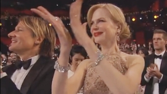 Even Nicole Kidman Thinks Her Bizarre Oscars Seal Clapping Was 'Really Awkward'