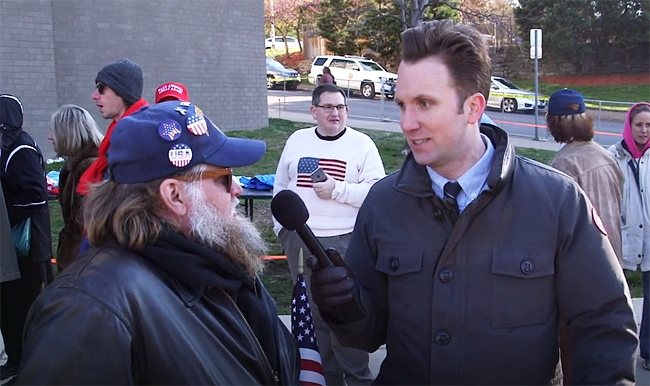 'The Daily Show' Sent Jordan Klepper To Another Trump Rally And It's Equal Parts Terrifying And Uproarious