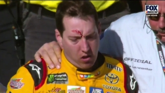 There Was A Fantastic Fight In The Pits After A NASCAR Race