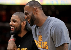 Iman Shumpert Doesn't Think There's Any Bad Blood Between LeBron And Kyrie Irving
