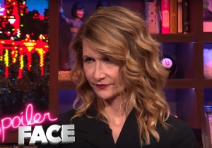 Laura Dern Nonverbally Shoots Down A Bunch Of 'Star Wars' Rumors
