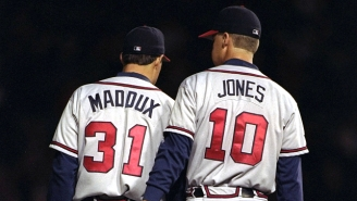Chipper Jones Explained How Greg Maddux Used To Get Away With Peeing On Players