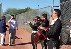 The Mariners Discovered That A Personal Mariachi Band Is The Perfect Birthday Present