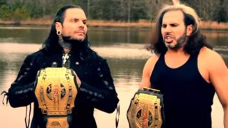 Matt And Jeff Hardy Have Officially Rendered The Impact Wrestling Tag Titles #OBSOLETE