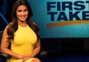 ESPN 'First Take' Host Molly Qerim Takes On Haters, MMA, And Debating The Tough Issues