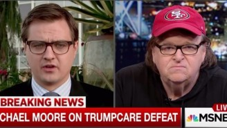 Michael Moore Warns Democrats About Celebrating Too Soon Over Trumpcare: 'This Is Not The Time To Throw Some Kind Of Party'