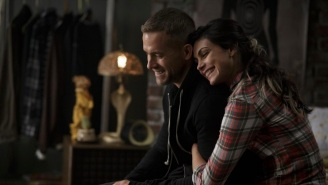 Morena Baccarin Hilariously Teases 'Deadpool' Co-Star Ryan Reynolds For International Women's Day