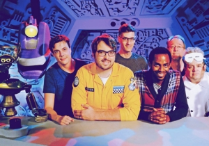 The New Cast Of 'Mystery Science Theater 3000' Isn't Sweating The Pressure